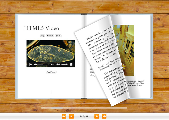 Flash Page Flip HTML5 Version